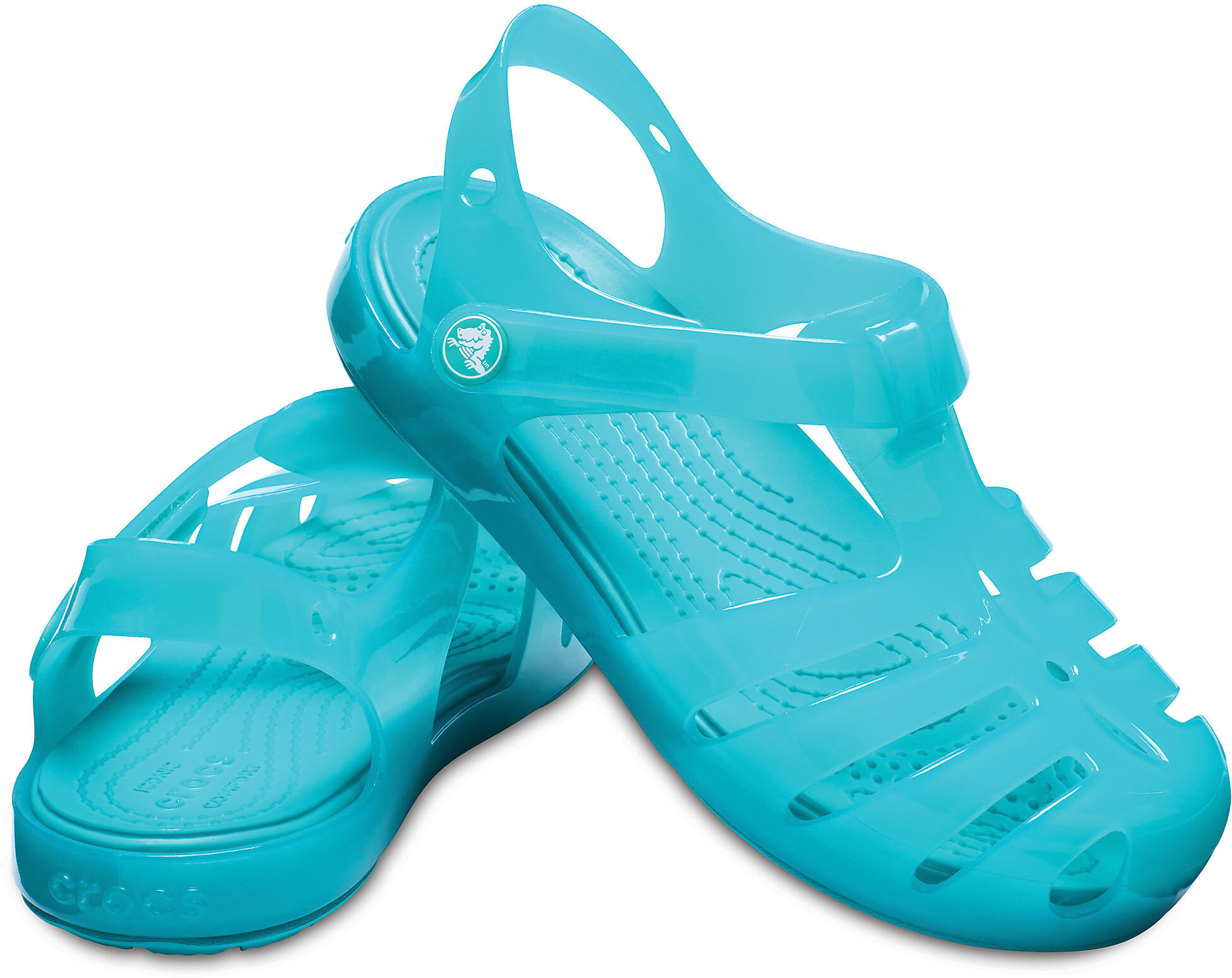 332c433ebafa28 Crocs Isabella PS Sandals Children turquoise at Addnature.co.uk